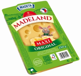 CHEESE MADELAND MAASDAMER 45% 250G SLICES