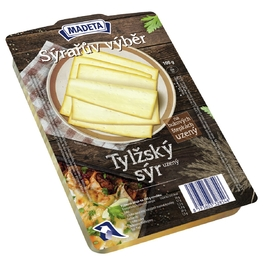 CHEESE SÝRAŘŮV TILSITER SMOKED 45% 100G SLICES