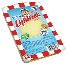CHEESE LIPÁNEK EDAM 30% 100G SLICES