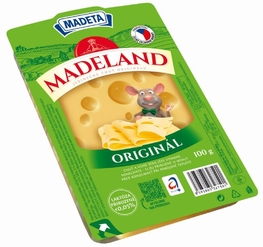 CHEESE MADELAND MAASDAMER 45% 100G SLICES