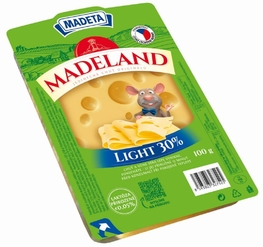 CHEESE MADELAND MAASDAMER 30% 100G SLICES