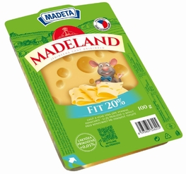 CHEESE MADELAND MAASDAMER 20% 100G SLICES