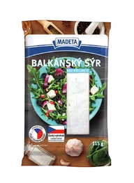WHITE CHEESE BALKAN NATURAL 43% 115G