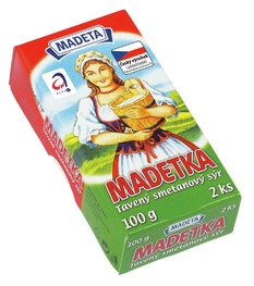 PROCESSED CHEESE MADETKA 45% 100G 2PCS