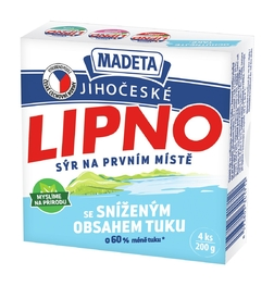 PROCESSED CHEESE LIPNO 26% 200G 4PCS