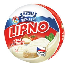 PROCESSED CHEESE LIPNO CREAMY 64% 140G 8PCS