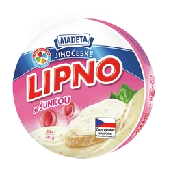 PROCESSED CHEESE LIPNO HAM 60% 140G 8PCS