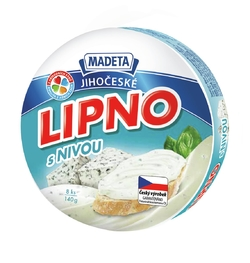 PROCESSED CHEESE LIPNO BLUE CHEESE 60% 140G 8PCS