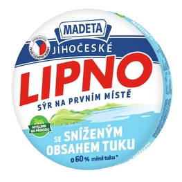PROCESSED CHEESE LIPNO CALC., FIBER 26% 140G 8PCS