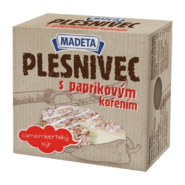 SOFT CHEESE WITH WHITE MOULD, red pepper 43% 80G