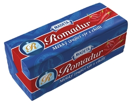 SOFT SMEAR CHEESE ROMADUR CHILLI 40% 100G