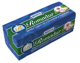 SOFT SMEAR CHEESE ROMADUR GARLIC-HERBS 40% 100G
