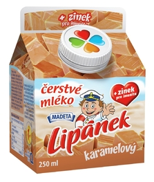 MILK ESL LIPÁNEK CARAMEL 1,2% 250ML