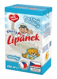 MILK UHT LIPÁNEK NATURAL 1,5% 250ML