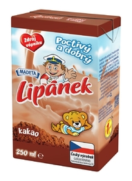 MILK UHT LIPÁNEK COCOA 1,3% 250ML