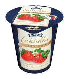SOUR CREAM LAHŮDKA STRAWBERRY 13% 130G