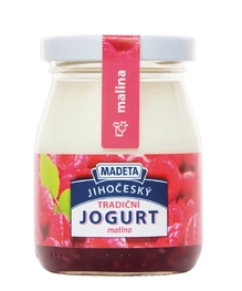 YOGHURT TRADITIONAL RASPBERRY 2,5% 200G