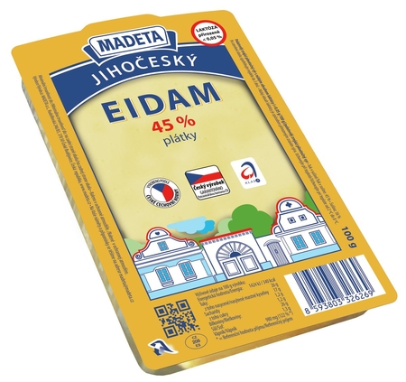 CHEESE EDAM 45% 100G SLICES