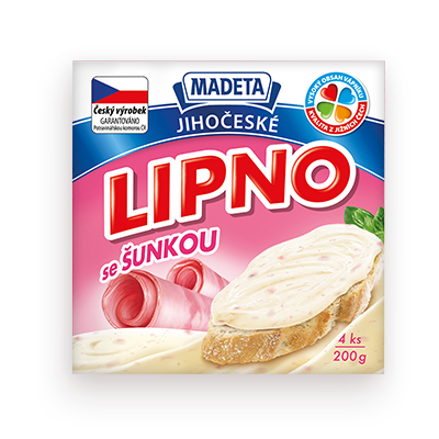 PROCESSED CHEESE LIPNO HAM 60% 200G 4PCS